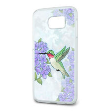 Hummingbird with Hydrangeas Slim Fit Case Fits Samsung Galaxy S6