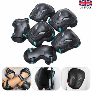Adult Roller Skateboard Skating Knee Elbow rotective Guard Wrist Pad Gear Pack P