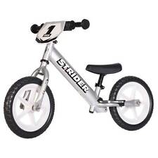 Strider 12 Pro Balance Bike Ages 18 Months to 5 Years Silver 848953000896