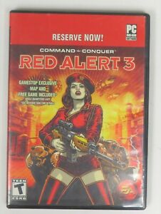 Command and Conquer: Red Alert 3 (PC 2008) - GAME ONY - FREE SHIPPING