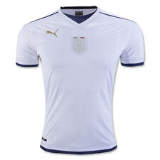 Puma Men's Italy 16/17 Tribute Away Jersey White/PeaCoat 749574 04
