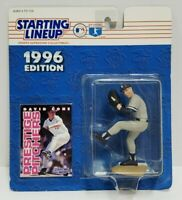 DAVID CONE - New York Yankees Kenner Starting Lineup SLU MLB 1996 Figure & Card