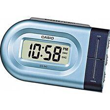 Casio Dq543-2 Bleu format 12/24 fois Mené le Réveil sonore Numérique