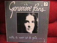 FRANCO LP: GENEVIEVE PARIS-Entre Le Vent Le Gris KEBEC DISC RECORDS 1978 Canada