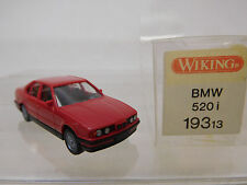 eso-3664Wiking 1:87 BMW 520i rot sehr guter Zustand