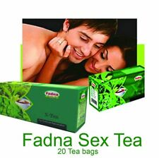 Fadna Bedroom Sex X Tea 100% Natural Herbal Men Women Ceylon Aphrodisiac 20 Bags