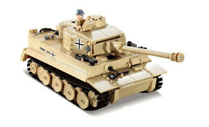 ww2 Tank Tigre Tiger Allemand Véhicule Militaire Construction char Type Lego