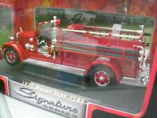 Véhicules de pompiers miniatures Signature Models