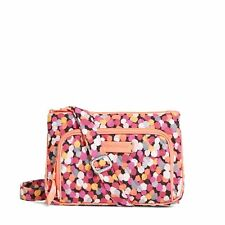 "Vera Bradley Little Hipster Cross-body ""Pixie Confetti"" Retired Patterns NWT!"