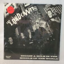 The Lowdowns Diggin A Hole In The Middle Of The World Punk Red Vinyl LP Record