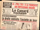 CANARD ENCHAINÉ Birthday Newspaper JOURNAL NAISSANCE 4 AVRIL APRIL 1990
