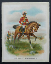 HIS MAJESTY KING GEORGE V 1915 Imperial Tobacco PREMIUM GIANT SIZED SILK