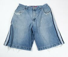 Vintage JNCO Jeans Mens Jean Shorts Distressed Sz 34 90s Baggy