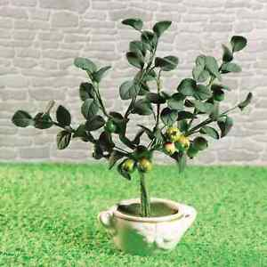DOLLS HOUSE 1/12th SCALE APPLE TREE IN A POT