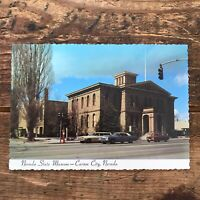 Vintage Postcard Nevada State Museum Carson City NV PC Unposted Federal Mint A50