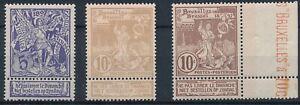 [B110] N° 71/73** - la série de timbres - TB - Cote 23€