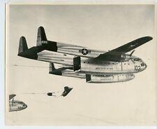 Korean War US Air Force Cargo Heavy Drop Photo C-119 Flying Box Car Photograph