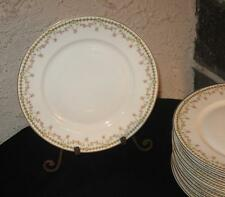 """Haviland """" China dishes Gorgeous Pink flowers LOT OF 8  Fine china Limoges 8 5/8"""