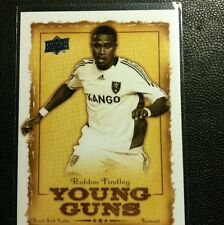 2008 Upper Deck MLS Insert  Young Guns Robbie Findley