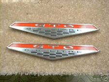 64 65 66 67 68 GTO 6.5 FENDER EMBLEMS NEW U.S.A MADE PAIR **FREE SHIPPING****