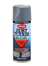 Krylon Rust Tough Battleship Gray Rust Preventive Enamel Spray Paint 12 oz