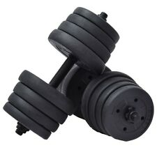 30 kg Weight Adjustable Cap Gym Traning Dumbbell Set