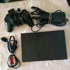 Sony PlayStation 2 PS2 Slim Black Console GTA Racing Bundle w/ 6 Game SCPH-70012