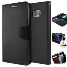 Anti-Shock Slim leather wallet Case Stand Case Cover For iPhone Galaxy LG Note