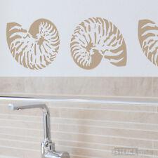 NAUTILUS shell pochoir pour déco & crafts. réutilisable, lavable. 10289s