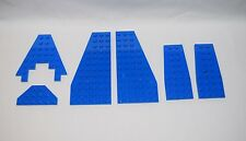 Lego Parts 30355 30356 2413 6104 2419 Blue Wedge Plates  LOT 6   #LX389