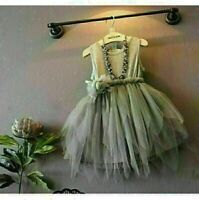 2019 Flower Girl Princess Dress Kid Baby Party Wedding Formal Dresses Clothes