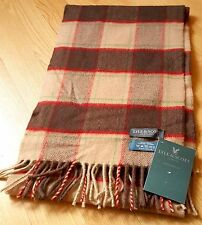 BNWT Lyle and Scott of Scotland 100% Cashmere scarf. Tartan print. Men's Scarf