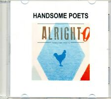 HANDSOME POETS - Alright! 1TR DUTCH ACETATE PROMO CD 2013