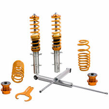 For VW Golf Mk4 Seat Leon AUDI A3 MK1 1.8T 1.9 TDi Coilover Spring Shock Kit
