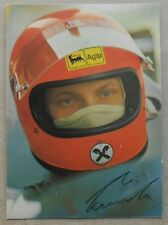 Scuderia Ferrari 1974 Niki Lauda Karte Card 96/74 no brochure depliant book buch