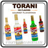 Torani Syrup Flavors for Coffee Tea Smoothie Soda Slushy Boba Cold Hot Beverage