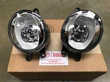 Genuine OEM Toyota LED Fog Light Upgrade Kit Chrome Bezel PT413-42190