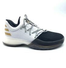 Adidas Mens Harden Vol 1 Basketball Shoes White Black 2016 Sneakers BY3481 6 New