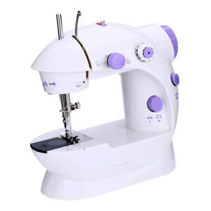 Electric Sewing Machine with Extension Table Household Dual Speed w/ Light