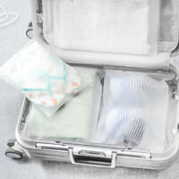 3-Size Travel Bags Waterproof Clothes Storage Cube Luggage Packing Cube Pouch SP