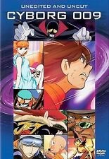 Cyborg 009 - Uncut and Unedited DVD 2004 2-Disc Set Widescreen Exclusive Booklet