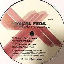 "Pascal feos-self reflexión (the missing pistas) PV 063 2003 techno 12"" vinilo"