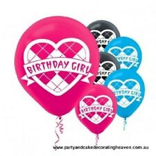 """MONSTER HIGH""    Pack of 6 - 12"" Helium Quality Balloons!"