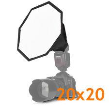 photographie flash octogonale softbox speedlight soft box parapluie 20x20cm