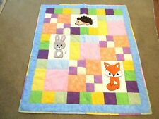 Forest Animal Babies - fox, rabbit and hedgehog