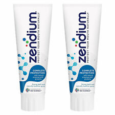 Zendium Complete Protection Toothpaste with Natural Antibacterial Enzymes 2x75ml
