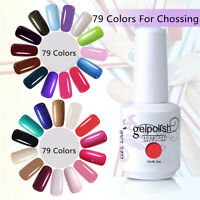 New Colour Gel Nail Polish Kit Gift Collection UV/LED Soak Off 15ml FREE POSTAGE