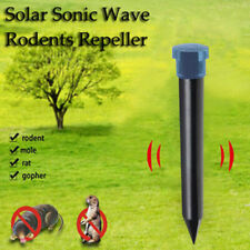 Ultrasound Rat Solar Rodents Repeller Garden Lawn Animal Electronic Driver Abs