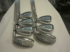 Adams Blue Combo Iron Set - 4H, 5H, 6-PW - Aldila SlimTech Ladies Flex Graphite