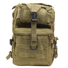 20L Outdoor Military Tactical Backpack Rucksack Hiking Camp Travel Bag Tan
